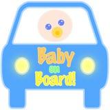 бирка доски младенца Иллюстрация вектора