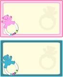 бирка младенца иллюстрация вектора