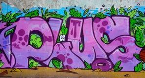 Бирка Монреаля искусства улицы Стоковые Изображения RF
