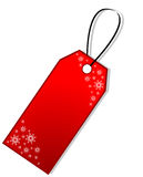 бирка подарка рождества Стоковая Фотография RF