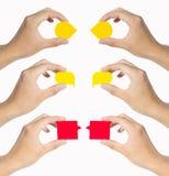 Бирка руки Стоковые Изображения RF