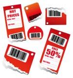 бирка сбываний barcode бесплатная иллюстрация