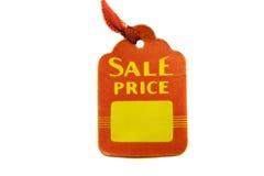 бирка сбывания цены стоковое изображение rf