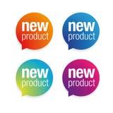 Бирка ярлыка нового продукта бесплатная иллюстрация