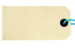 бирка ярлыка Стоковые Фотографии RF