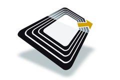бирка rfid бесплатная иллюстрация