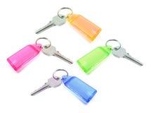 бирки ключей Стоковая Фотография RF