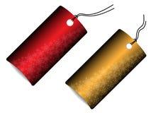 бирки сбывания рождества Стоковое фото RF