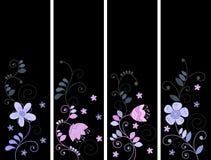 Бирки с цветками иллюстрация штока