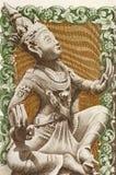 Бирманский танцор стоковое изображение
