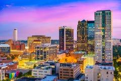 Бирмингем, Алабама Skyliune Стоковое Фото