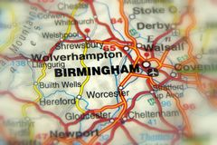 Бирмингем, Великобритания Великобритания - Европа стоковые изображения