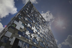 БИРМИНГЕМ, Великобритания - 3-ье мая 2015 - куб Стоковое Изображение