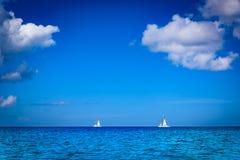 Бирюза Доминиканской Республики карибского моря стоковая фотография