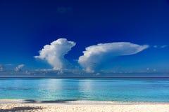 Бирюза Доминиканской Республики карибского моря стоковая фотография rf