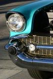 бирюза классики автомобиля стоковые фотографии rf