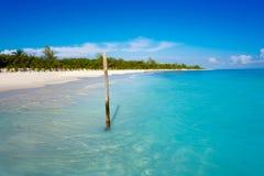 Бирюза Мексика пляжа Майя Ривьеры карибская стоковое фото rf
