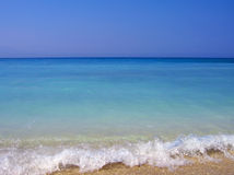 бирюза пляжа Стоковые Фото