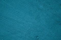 Бирюза текстуры хлопка Стоковое Изображение