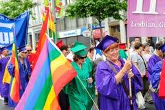 бисексуальные голубые учителя lesbian группы Стоковое Фото