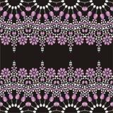 Бисероплетение, handmade, вышивка руки Красивая ткань ювелирных изделий, шаль, обои бесплатная иллюстрация