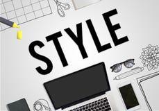 Битника тенденций стиля концепция модного ультрамодная иллюстрация штока