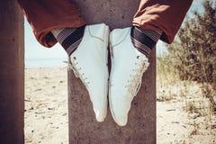 Битник ног современный Стоковое фото RF
