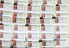 Билеты лотереи Стоковая Фотография