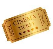 Билет золота Стоковая Фотография RF