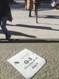 Билет назначения агенства налога стоковое изображение