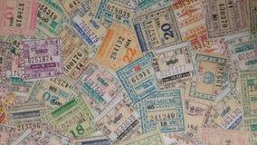билет на автобус Таиланд Стоковая Фотография RF
