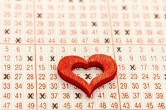 билет лотереи стоковое фото rf