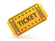 билет Стоковая Фотография RF