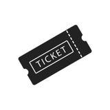 билет Стоковая Фотография