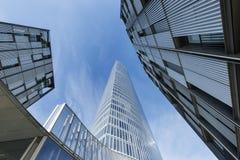 Бильбао, Баскония, Испания, 30-ое октября: Башня Iberdola Стоковые Фото