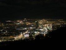 Бильбао к ноча Стоковые Фотографии RF