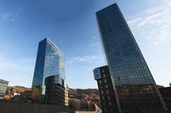 Бильбао, провинция Бискайи, Баскония, Испании, иберийского полуострова, Европы Стоковые Изображения RF
