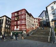 Бильбао, провинция Бискайи, Баскония, Испании, иберийского полуострова, Европы Стоковое Изображение RF