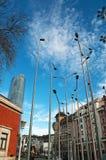 Бильбао, провинция Бискайи, Баскония, Испании, северной Испании, иберийского полуострова, Европы Стоковое фото RF