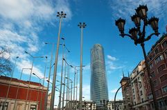 Бильбао, провинция Бискайи, Баскония, Испании, северной Испании, иберийского полуострова, Европы Стоковая Фотография RF