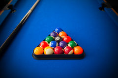 Бильярдный стол Стоковые Фото