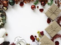 Благодарение и рождество с Новым Годом 2019 стоковое изображение