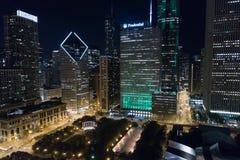 Благоразумный строя городской Чикаго Стоковое Изображение RF
