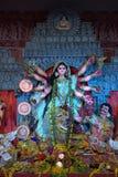 Благословения и молитвы богини Durga стоковые изображения