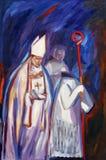 Благословленное Aloysius Stepinac иллюстрация штока