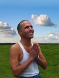 благословленный человек Стоковое Фото