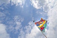 Благословлять флаги благословения стоковое фото rf