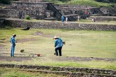 Благоустраивать археологических раскопок Стоковое фото RF