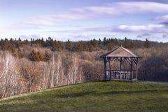 Благоустраивать газебо в природе Стоковые Фото