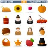 благодарение серии robico Стоковые Изображения